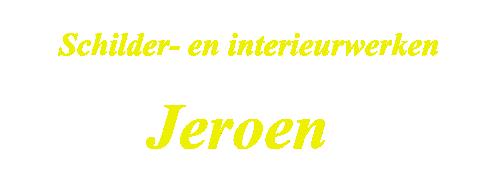 Schilder-, Renovatie- en Interieurwerken Jeroen